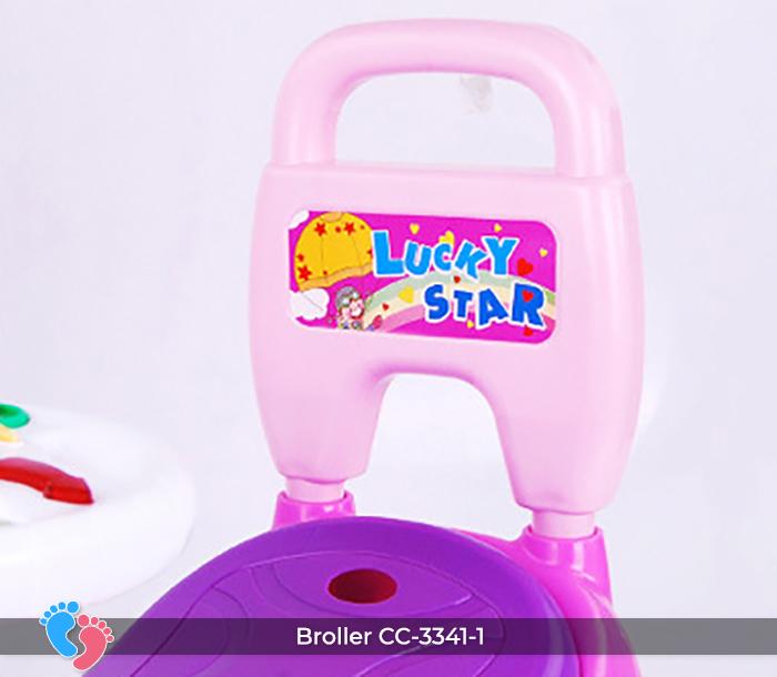 Xe chòi chân đồ chơi Broller CC-3341-1 9