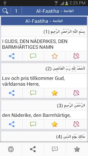Quran - Swedish