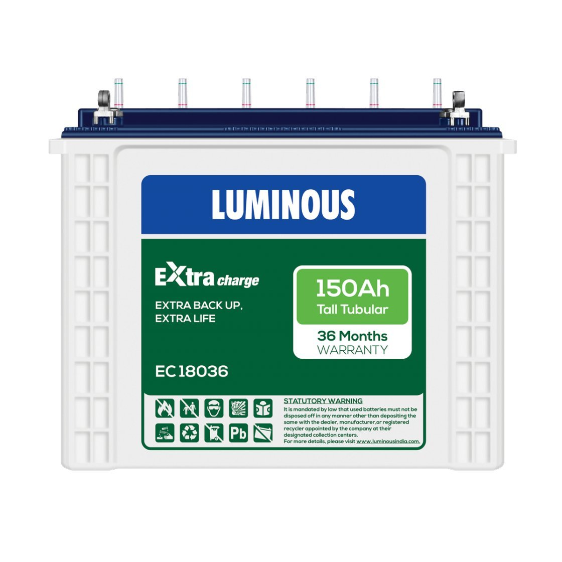 Luminous EC18036 150Ah Battery