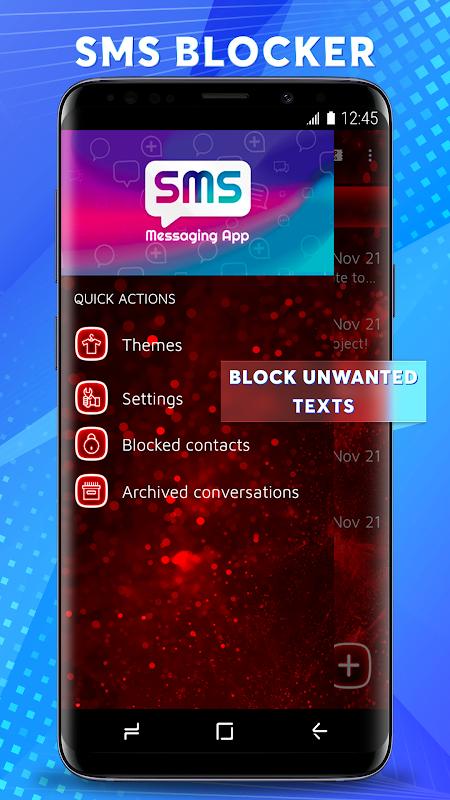 Dual Sim SMS Messenger 2019 screenshots
