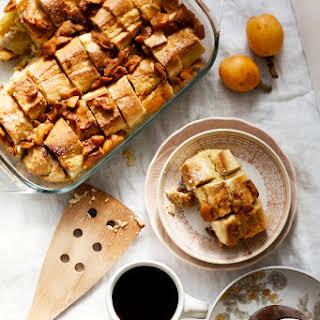 Gingered Loquat French Toast Bake.
