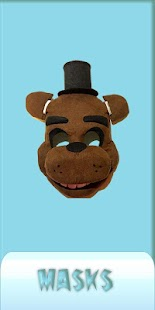 Masks FNAF screenshot