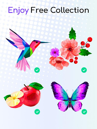 Tap Tap Color Mania - Coloring Book, Color by Dots 1.5 screenshots 10