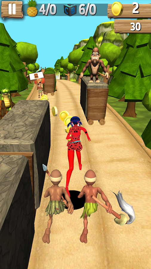 Miraculous LadyBug Subway Adventure- screenshot