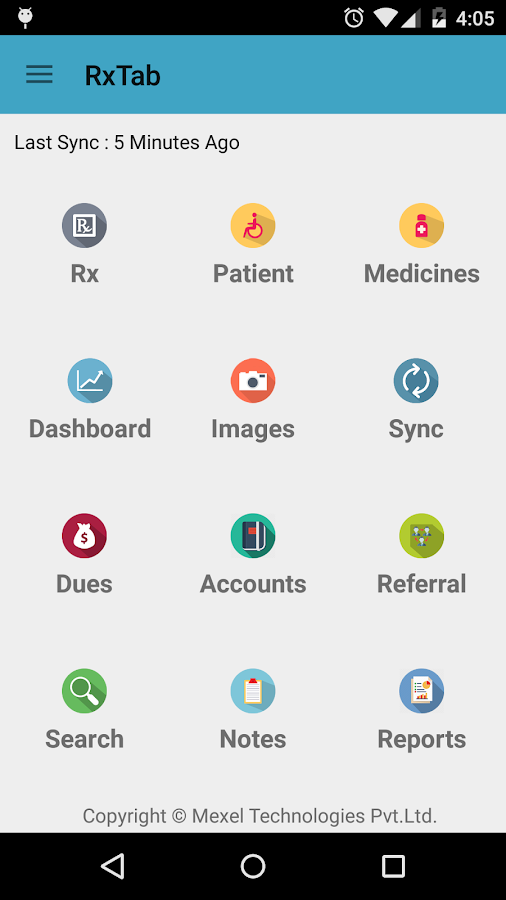 RxTAB Prescription App- screenshot