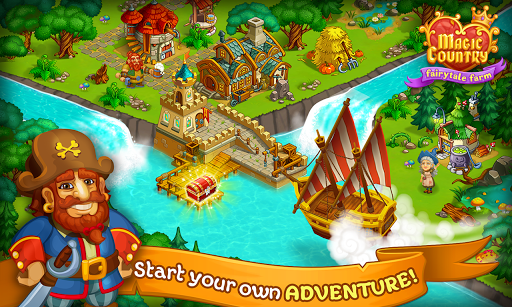 Magic City: fairy farm and fairytale country for Android apk 8