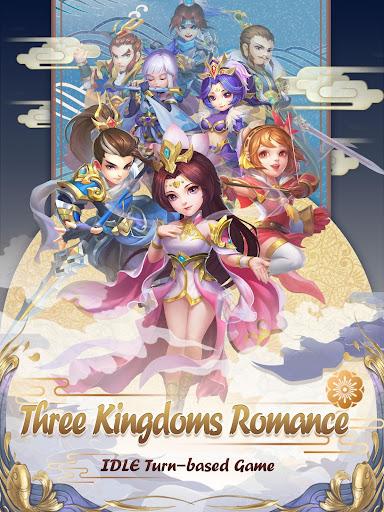 Code Triche Three Kingdoms Idle Adventure APK MOD screenshots 6