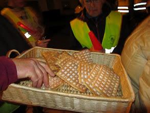 Photo: lekker wafel met poedersuiker