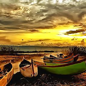B O A T by Fammz Fammudin - Transportation Boats ( water, transportations, boat )