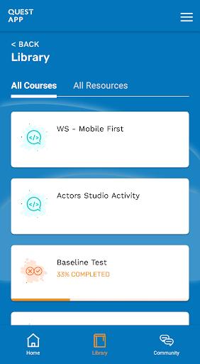 Quest App screenshot 2