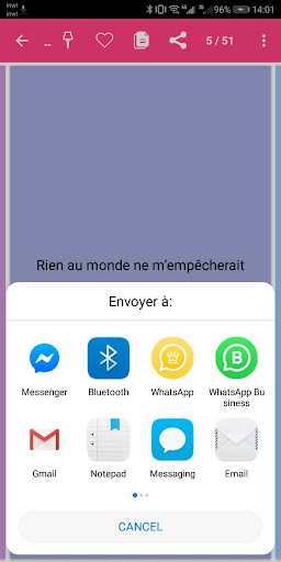 SMS Anniversaire 2020 4.0 screenshots 8