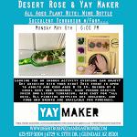 "Craft Night at Desert Rose ""Plant Nite"""
