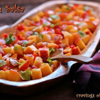 Peach Salsa.