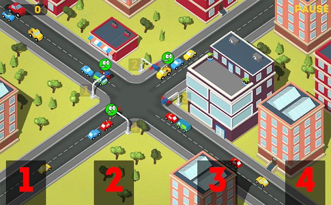 Traffic Light: Checkpoint Cars - screenshot