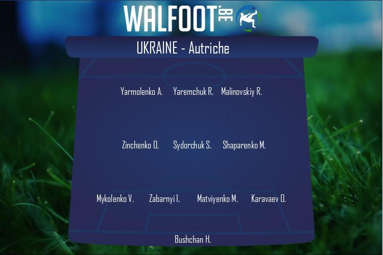 Ukraine (Ukraine - Autriche)