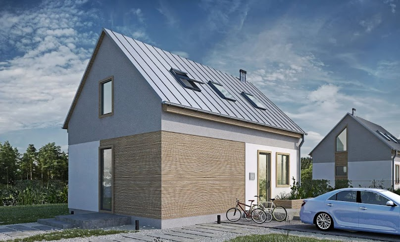 Projekt jednorodzinnego domu