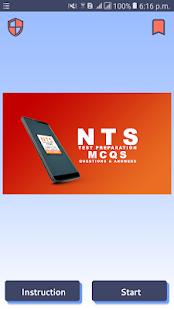 Download nts mcqs questions 2019 For PC Windows and Mac apk screenshot 1