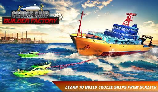 Cruise Ship Mechanic Simulator Ship Building Games App