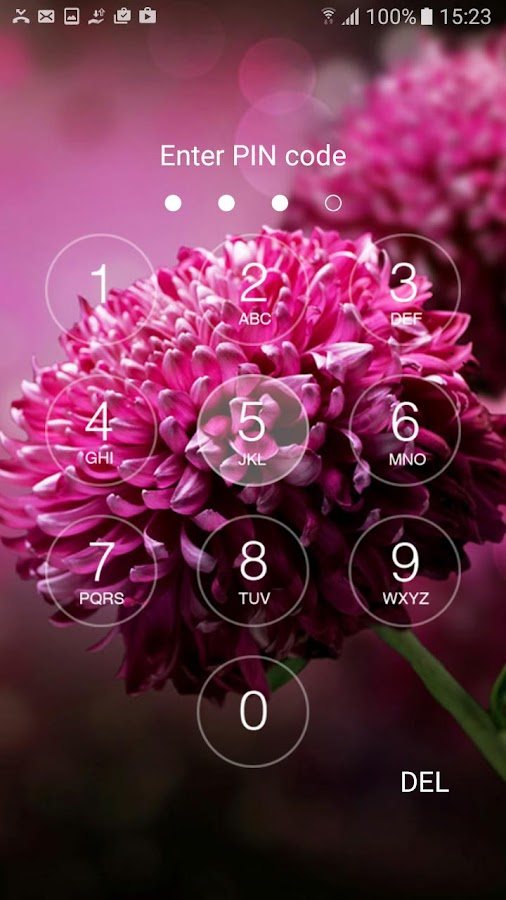 OS10 lock screen- screenshot