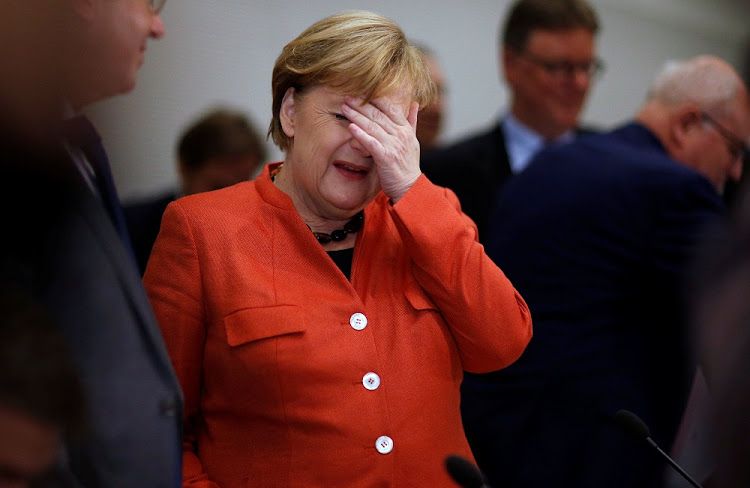 BusinessLIVE Angela Merkel rejects Donald Trump's claims that German cars are a threat