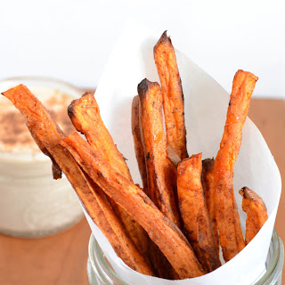 Pumpkin Pie Spice Sweet Potato Fries