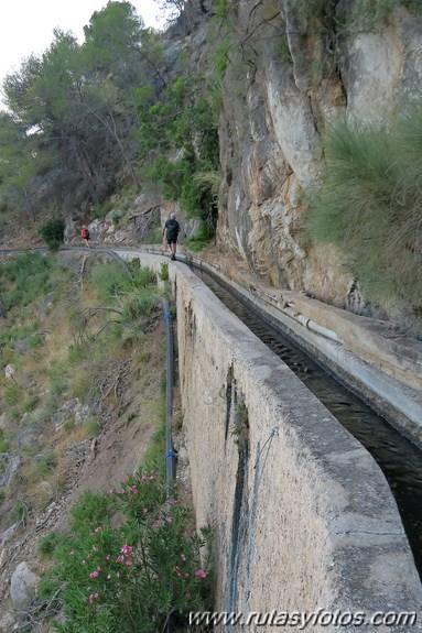 Frigiliana - Rio Higueron - Acequia de Lizar