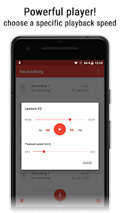 MP3 Recorder (RecAnything) Screenshot