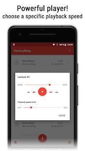 MP3 Recorder (RecAnything)