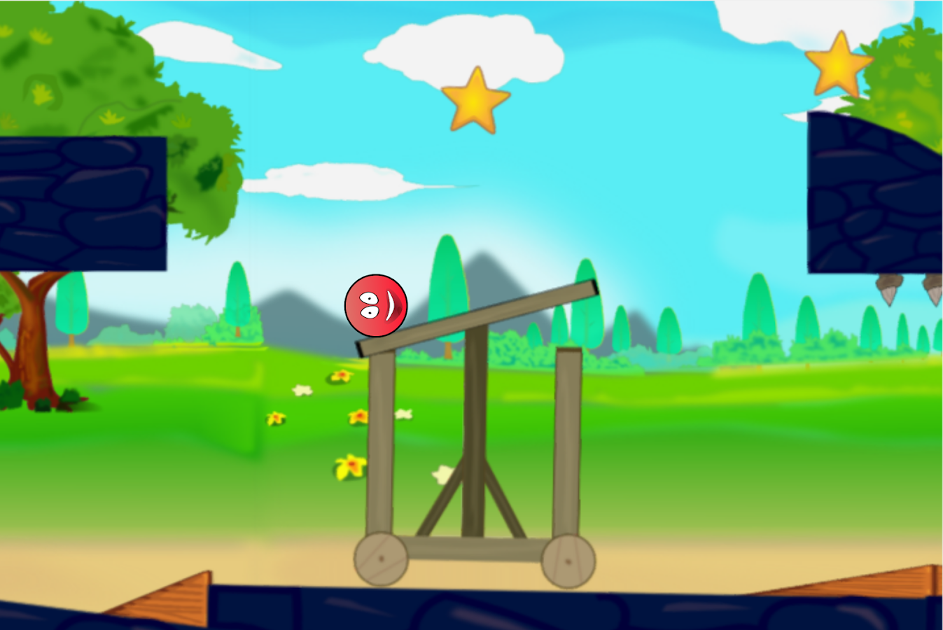 Red Ball 5- screenshot