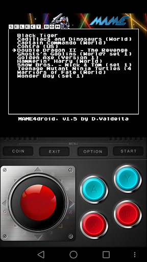 MAME4ALL Android  screenshots 2