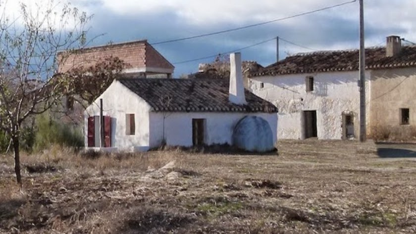 La cortijada en venta en la zona del Alto Almanzora