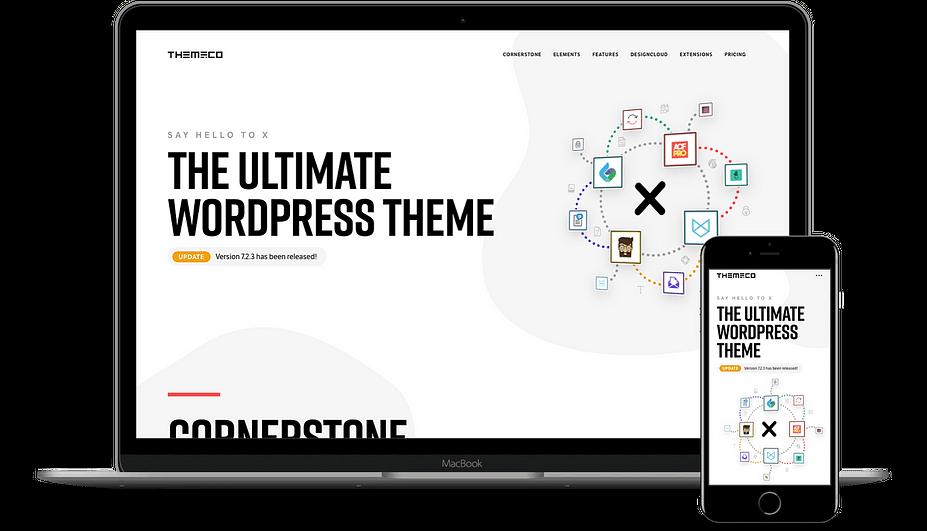 Tên ngắn gọn nhưng vẫn là một trong những chủ đề WordPress nhanh nhất X