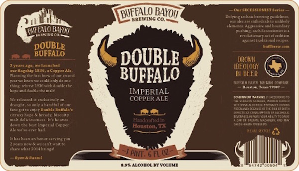 Logo of Buffalo Bayou Double Buffalo