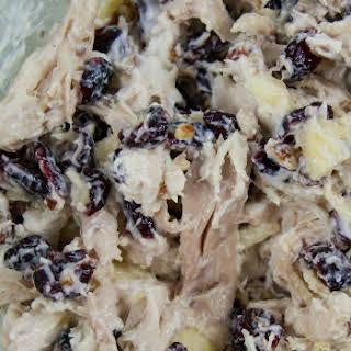 Apple Pecan Greek Yogurt Chicken Salad.