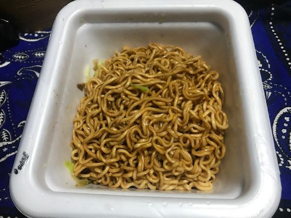 サッポロ一番 旅麺 浅草ソース焼そば 109g by Ryudantakadas