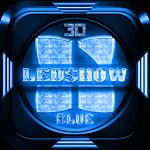 Next Launcher Theme LedShowBlu Icon