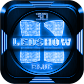 Next Launcher Theme LedShowBlu