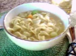 Chicken Noodle Soup...quick And Easy Recipe