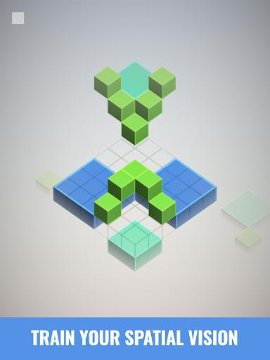 Isometric Squares - puzzle u00b2  screenshots 8