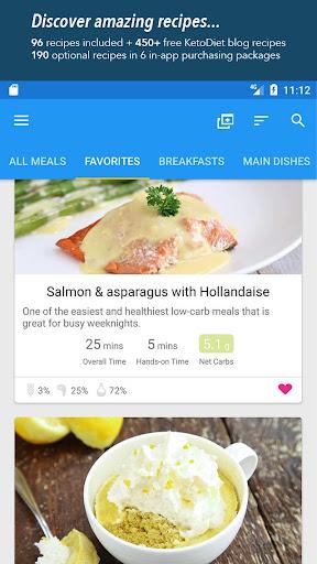 KetoDiet Basic screenshot 1