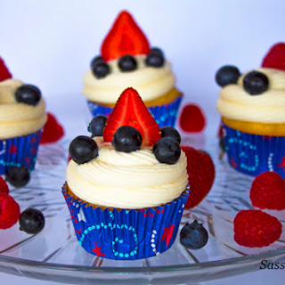 4th of July Cupcakes Easy Homemade Cupcakes