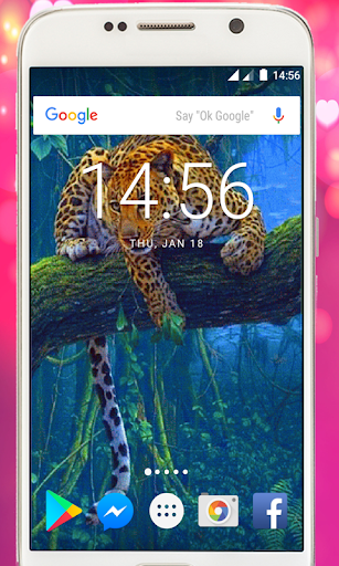 ... Tiger live wallpaper, jungle animal wallpaper free ...