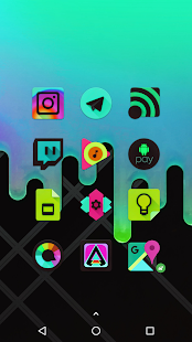 Black Light Icon Pack Screenshot