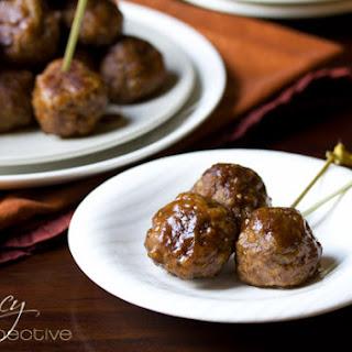 Spiced Apple Swedish Meatballs