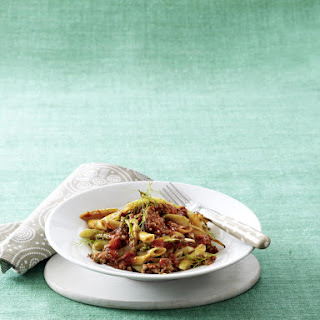 Pasta with Tomato and Fennel Bolognese