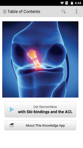 Ski-bindings and the ACL
