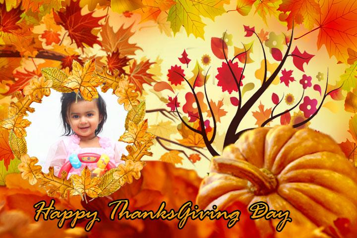 android Thanksgiving Day Photo Frames Screenshot 6