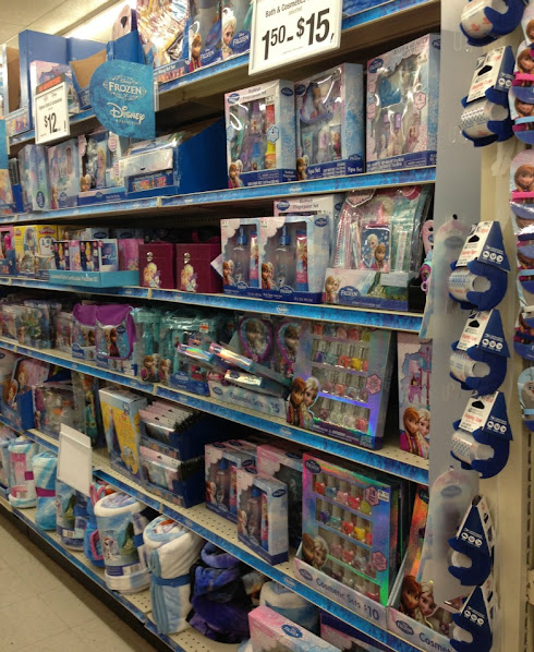 Disney Frozen and other preschool toys at Big Lots