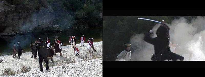 Nikon Film Festival, une génération – Le Pacte Pirate. Régleur cascades et chorégraphe de combat : Alexis DIENNA.