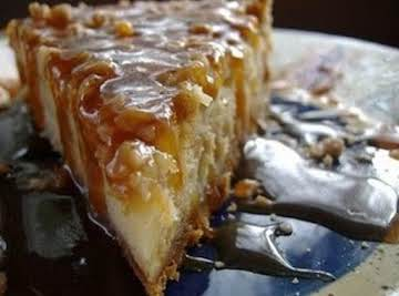 Impossible Toffee Bar Cheesecake